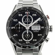 TAG Heuer Carrera 43mm Automatic Day Date Steel