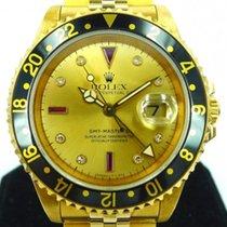 롤렉스 (Rolex) GMT-Master 2 Yellow Gold with Serti Ruby and...