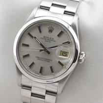 Rolex Oyster Perpetual Date Edelstahl Automatic Herrenuhr Service