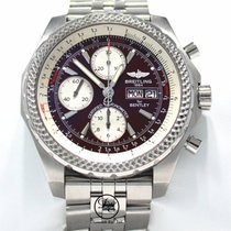 Breitling Bentley GT A13363 45mm Burgundy Dial Chronograph...