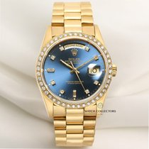 Rolex Factory Rolex Day-Date 18348 18K Yellow Gold Diamond