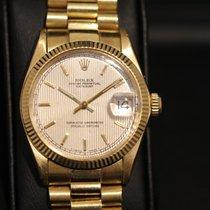 Rolex Datejust Medium in 750/- 18kt Gelbgold