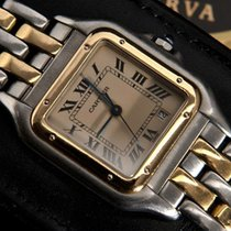 Cartier Panthère Mid Size  2-Tone Gold/Steel W25028B6 - Boxed