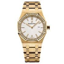 Audemars Piguet Royal Oak Lady Quartz Yellow Gold Diamond...