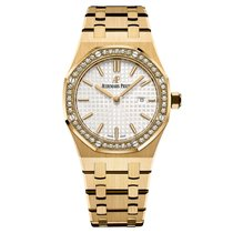 Audemars Piguet Royal Oak Lady neu 33mm Gelbgold