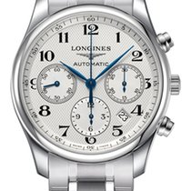 Longines Steel Automatic Silver Arabic numerals 42mm new Master Collection