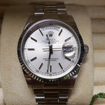 Rolex Day-Date whitegold Full Set 2002 very good condition