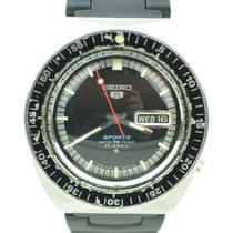 Seiko 5 Sports tweedehands 39mm Staal