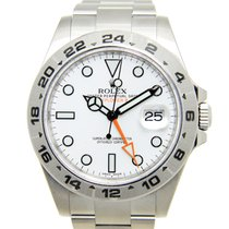 勞力士 Stainless Steel White Automatic 216570WT