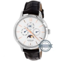 Montblanc 39mm Automatic pre-owned Heritage Spirit Silver