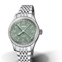 Oris Big Crown Pointer Date 01 754 7749 4067-07 8 17 22 ORIS AVIATION BIG CROWN Verde new