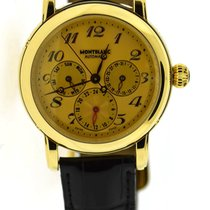 Montblanc Yellow gold Automatic Yellow 40mm pre-owned