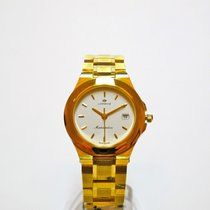 Lorenz Yellow gold 24mm Quartz 020369AC new