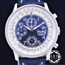 Breitling Montbrillant Olympus Steel 42mm Blue Arabic numerals United States of America, New York, NEW YORK
