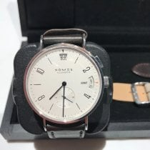 NOMOS Tangomat GMT pre-owned 40mm Steel