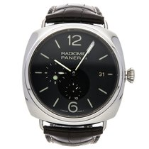 Panerai PAM 323 Staal Radiomir 10 Days GMT 47mm tweedehands