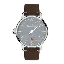 Meistersinger Steel 44mm Automatic ED-NL17  RRP  € 1698,= new