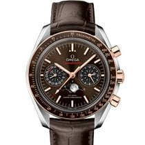 Omega Speedmaster Professional Moonwatch Moonphase Gold/Steel 44.25mm Brown United States of America, New York, New York
