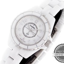 Chanel Steel Quartz Mother of pearl Arabic numerals 29mm pre-owned J12