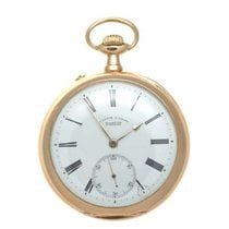 A. Lang & Sohne Pocket Watch Very good Yellow gold 54mm Manual winding