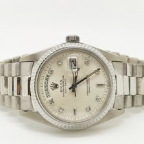 Rolex 1803 Witgoud 1976 Day-Date 36 36mm tweedehands