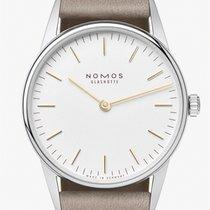 NOMOS Orion 33 Steel 32,8mm White No numerals