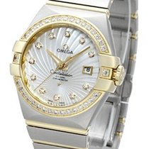 Omega Constellation Ladies Gold/Steel 31mm White