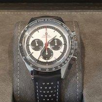歐米茄 Speedmaster Professional Moonwatch 鋼 39.7mm 銀色 無數字
