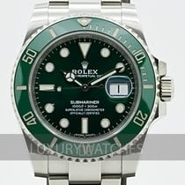Rolex Submariner Date 40mm Verde