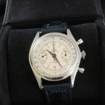 Rolex Chronograph Staal 35mm Wit Romeins