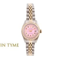 Rolex Lady-Datejust Goud/Staal 26mm Roze