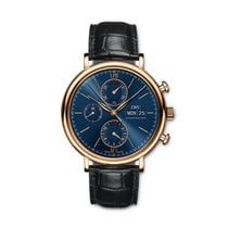 IWC Pозовое золото Автоподзавод новые Portofino Chronograph