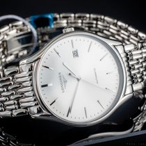 Longines Lyre Steel 38mm Silver