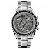 Omega Steel Manual winding Silver 44.2mm new Speedmaster Professional Moonwatch