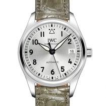 IWC Pilot's Watch Automatic 36 Acero 36mm Plata Árabes