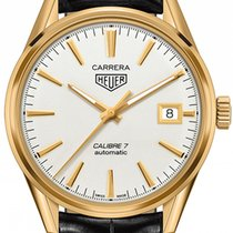 TAG Heuer Yellow gold Automatic 39mm new Carrera Calibre 7