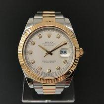 Rolex Datejust II Gold/Steel Diamond Dial