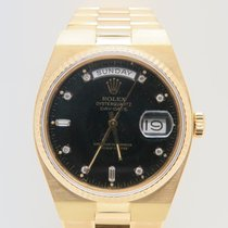 Rolex Day-Date Oysterquartz 18k Yellow Gold Factory Diamond Dial