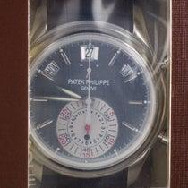 Patek Philippe Annual Calendar Chronograph Platina 40.5mm Grijs