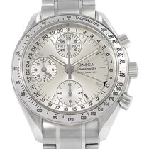 Omega Speedmaster Day Date Chrono Silver Dial Watch 3523.30.00...