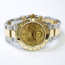 Rolex Daytona Cosmograph 40mm Stainless Steel and 18K Gold...
