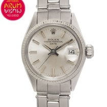 Rolex Oyster Perpetual Lady Date Acero 24mm Plata España, Madrid