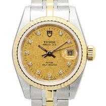 帝陀 Heritage 18k Gold Steel Gold Automatic 92413-62433-10DI-CHCL