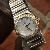 Omega Constellation Quartz My Choice with diamond dial/Bezel