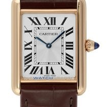 Cartier Rose gold Tank Louis Cartier 25.5mm new
