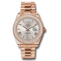Rolex Day-Date 40 Or rose 40mm Romain