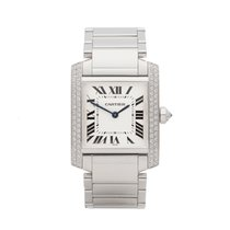 Cartier Tank Française WE1009S3 or 2404MG 2000 pre-owned