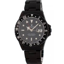 Rolex Oyster Perpetual Date GMT Master 16700 Black PVD Mens Watch