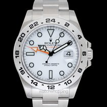 Rolex Explorer II Acero 42mm Blanco
