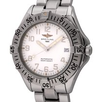 Breitling Colt Automatic Steel 38mm White Arabic numerals United States of America, Texas, Austin